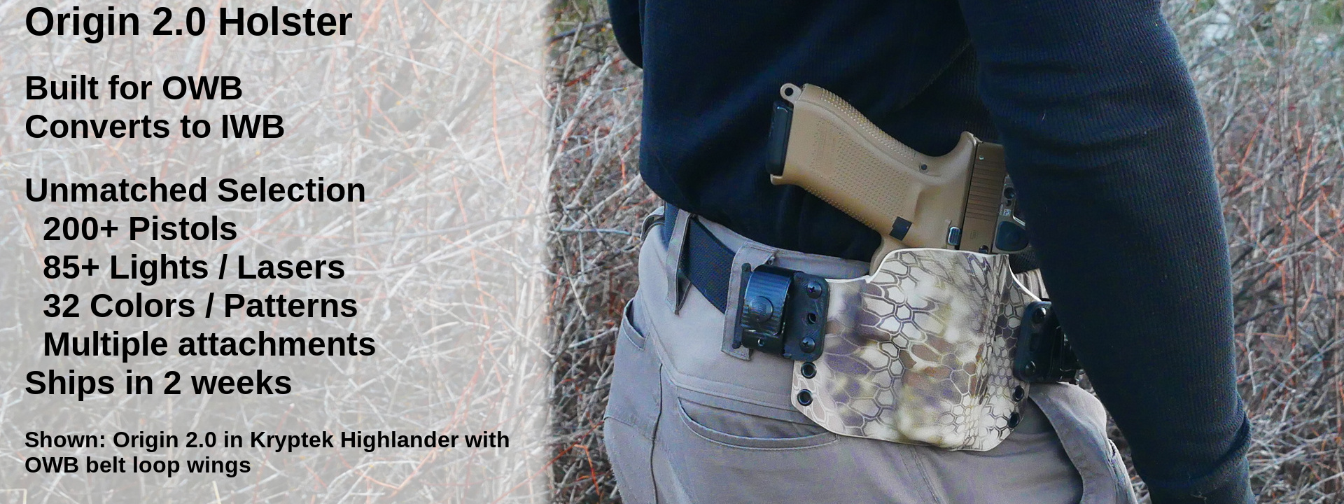 Werkz LLC Custom Holsters & Magazine Carriers - Live Armed!